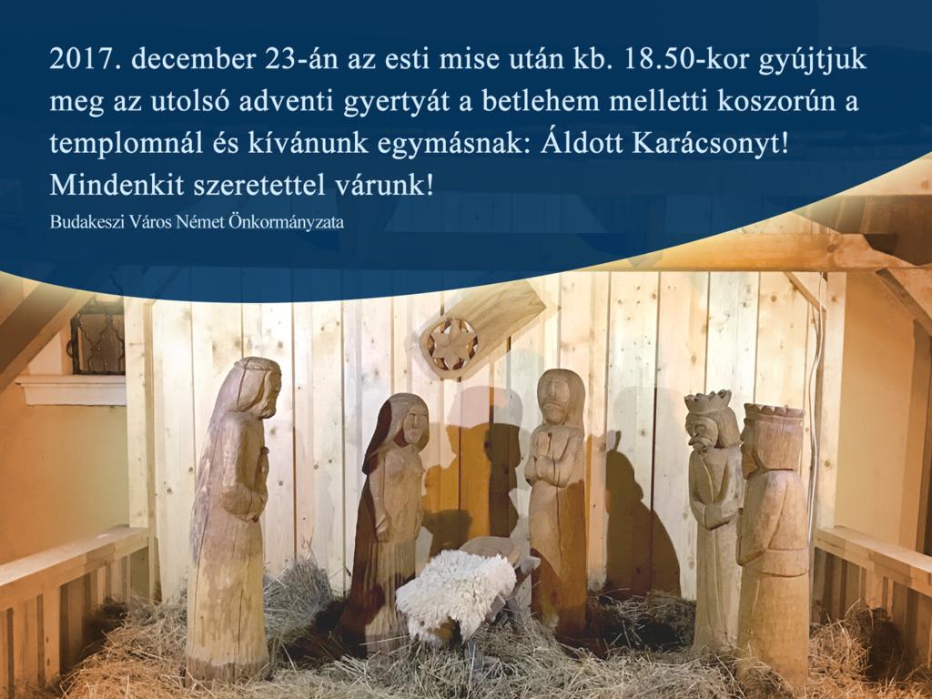 Advent – záró ünnepség