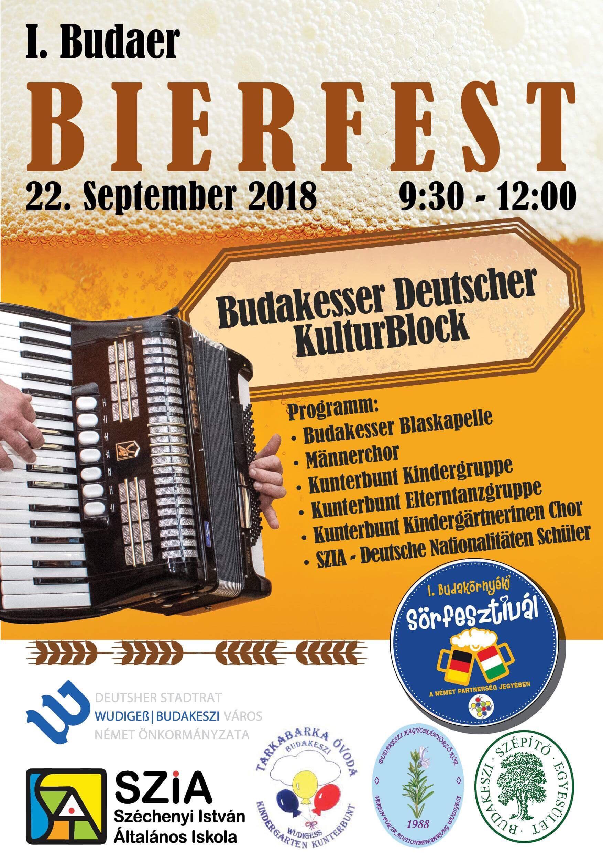 Budakeszi Német Kultúrblokk a sörfesztiválon